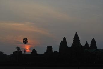 Angkor Wat al amanecer.