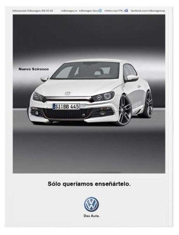 Anuncio Volkswagen Contraportada Yorokubu